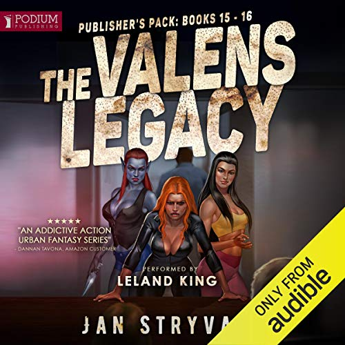 The Valens Legacy: Publisher's Pack 8 audiobook cover art