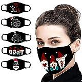 SHUANGA Weihnachten Männer und Frauen Anti-Verschmutzung Anti-Spritzer Erwachsenen Gesichtsschutz iederverwendbare Anti-Fog Anti Staub Atemschutz