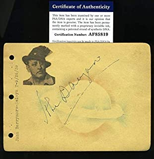 Best john barrymore autograph Reviews