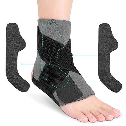 bandage fußgelenk, knöchel bandage sprunggelenk bandagen sport, fußbandage, knöchelbandage rechte und linke benutzt für Laufen fußball basketball und Chronische Knöchelschmerzen