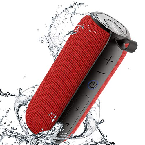 SANAG Portable Bluetooth Speaker, 360 HD Surround Loud Sound and Deep Bass, 25W Wireless Stereo Dual Pairing, IPX7 Waterproof,Bluetooth 5.0, Outdoor, Camping, 24-Hour Playtime Speaker