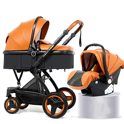 Find Bargain Cozy 3 in1 Baby Stroller Carriage Compact Pram Stroller (Color : F) (Color : A)
