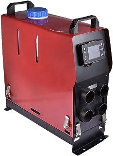 Euopat Calentador Diesel,Juego De Calentador De Combustible Diesel De Estacionamiento De Aire 5KW 12V / 24V Juego De Calentador Diesel De Aire Calentador De Vehículo con Control Eléctrico