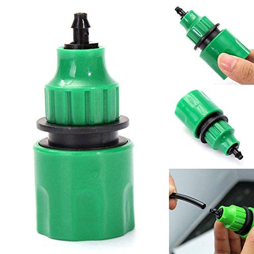 EMVANV manguera de agua de jardín conector rápido manguera de riego conectar tubo de acoplamiento para 4/7 mm 8/11 mm Micro manguera