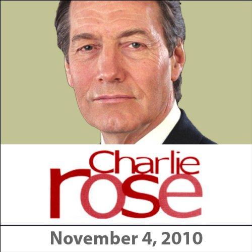 Charlie Rose: Mark Halperin, John Heilemann, and Vittorio Grigolo, November 4, 2010 audiobook cover art