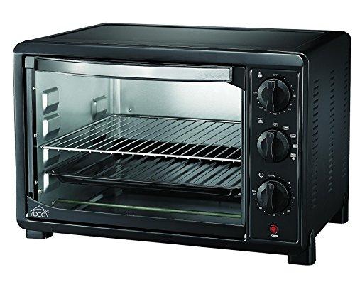 Dcg eltronic forno 31lt mb9831n ventil. 31 litri-termostato ventilato 4 funzioni- norme a12