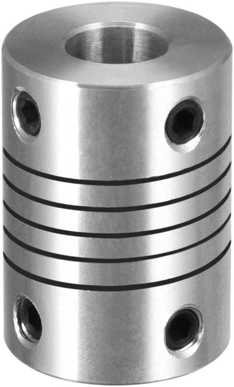 uxcell 4mm to 8mm Aluminum Coupling Alloy Import shopping Shaft Flexible Coupler