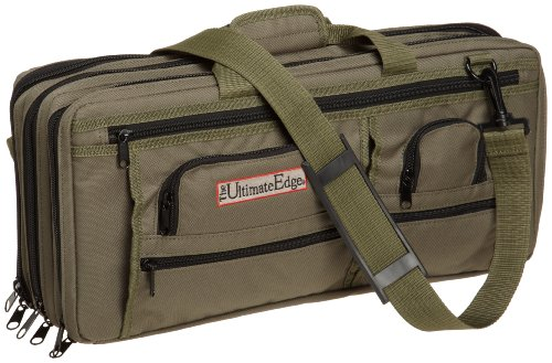 The Ultimate Edge 2001-EDOL Deluxe Chef Knife Case, Olive