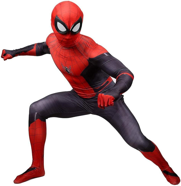 Adult SpiderMan OnePiece Costume Cosplay Spandex Halloween Costume Ball Movie Props Outdoor Sweatshirt,ManXL