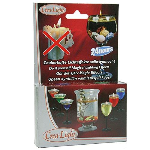 Mannibest Crea - Light Schwimmlicher | Schwimmkerzen | Öl-Kerzen zum selber Machen