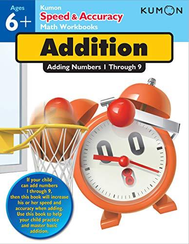 Addition: Adding Numbers 1-9 (Speed & Accuracy Math Workbooks)