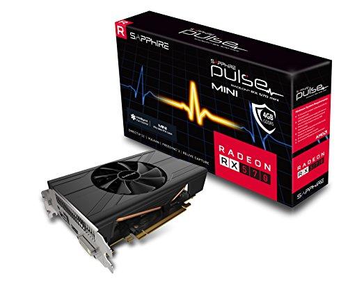 Sapphire 11266-06-20G Radeon Pulse RX 570 ITX 4GB GDDR5 HDMI / DVI-D /...