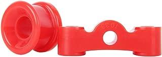 Red SHIFT LINKAGE BUSHINGS URETHANE 86-01 Acura INTEGRA