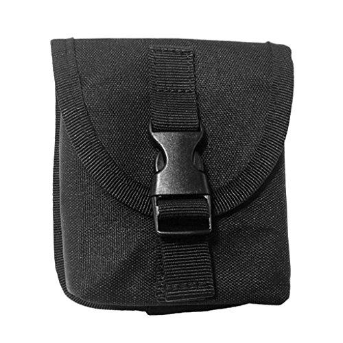 perfeclan Softblei Tasche Ersatz Bleitasche für Taschenbleigurt - Schwarz