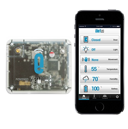 Elertus Smart Sensor Alerts + Remote Temperature Monitoring System