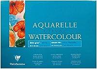 Clairefontaine Etivalコールドプレスグルーパッド、36 x 48 cm、200 g、25枚