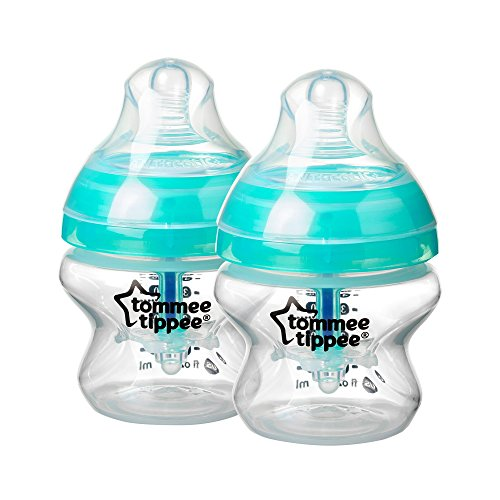 Tommee Tippee Closer to Nature - Biberon'Advanced Comfort', 150 ml, 2 pezzi
