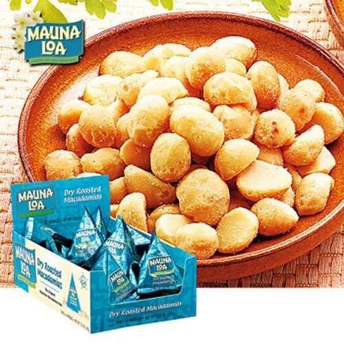 マウナロア(MAUNALOA) マカデミアナッツ ソルト ミニパック 24袋セット【ハワイ お土産 輸入食品 スナック ナッツ 】