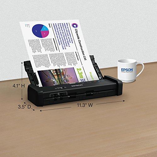 Epson Workforce ES-200 Color Portable Document Scanner with ADF for PC and Mac, Sheet-fed and Duplex Scanning (Renewed) Photo #5
