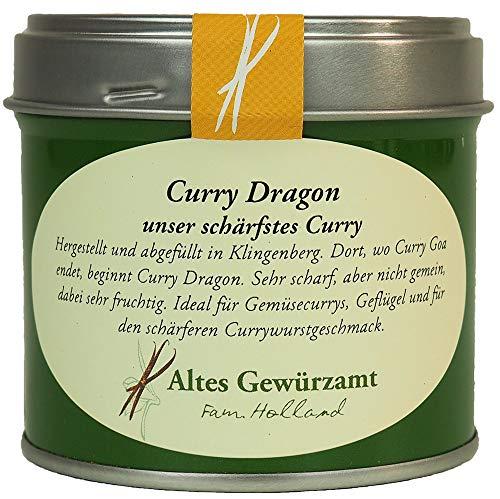 Altes Gewürzamt Curry Dragon scharf Gewürzmischung Gewürz 70 g - Ingo Holland