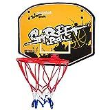 ZXCVB Aro de baloncesto portátil, aro de baloncesto montado en la pared, estante de tiro de los niños sin perforación, dibujos animados de juguete de bebé de interior de los niños del hogar