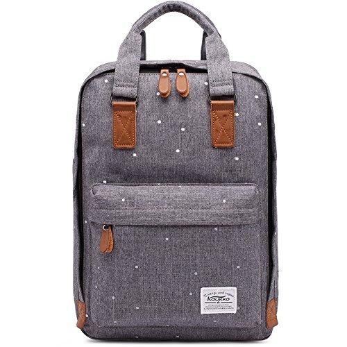 KAUKKO Stylisch Laptop Handtasche Schulrucksack Daypacks