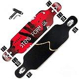ZEH Lang Boards Skateboard, 41-Zoll-Longboard Skateboard Complete...