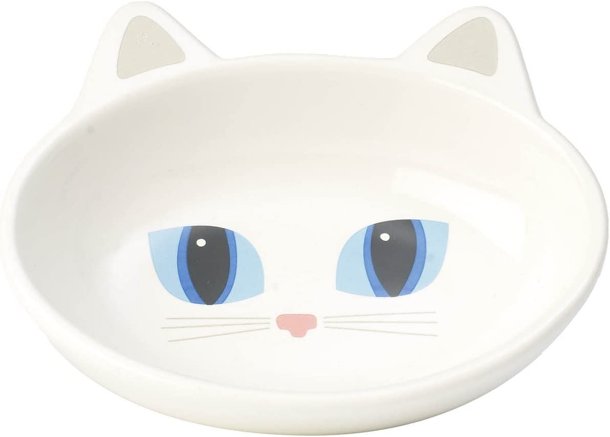 PetRageous Oval Frisky Kitty Stoneware 5.5-Inch Bowl Fees free Cat an Wide Max 63% OFF