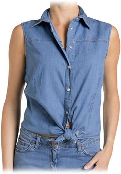 Carrera Jeans - Camisa Jeans 253 para Mujer, Estilo Cintura ...