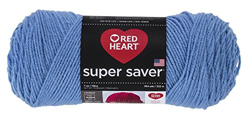Red HeartSuper Saver Yarn, Light Periwinkle