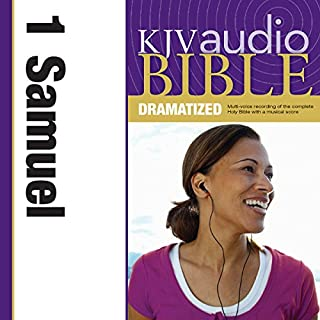 Dramatized Audio Bible - King James Version, KJV: (08) 1 Samuel audiobook cover art