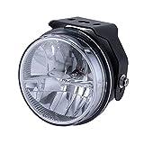 PIAA バイク用フォグランプ LED 6000K 追加ランプ 径90mm マルチリフレクター 12V8W LP530 IPX7 車検対応 1個入 MLL1