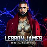 LeBron James 2021-2022 Calendar: 8.5 x 8.5 Inch Monthly View, 18-Month, July 2021 - dec 2022 ,American professional basketball player