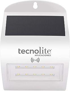 TecnoLite Aplicaciones-TLapps. Arbotante de LED solar con sensor de movimiento,encendiendo con la detección de movimiento,...