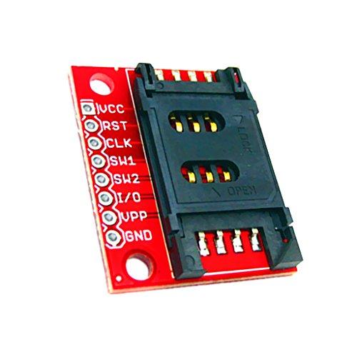 Almencla Tarjeta de Conexión PCB Módulo SIM