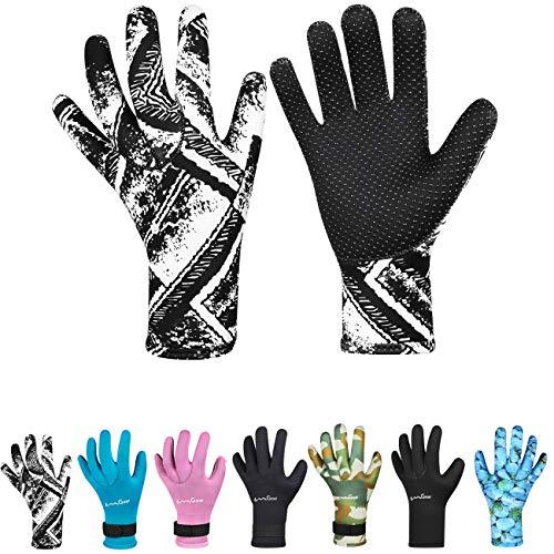 OMGear Neoprene Gloves Diving Wetsuit Gloves 3mm