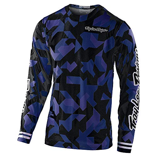 Troy Lee Designs Youth Kids | Offroad | Motocross | GP Air Confetti Jersey (Navy, Y-XSmall)