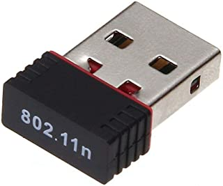 Kariwell WiFi Network Adapter - Mini USB 2.0 802.11n 150Mbps WiFi Network Adapter for Windows Linux PC