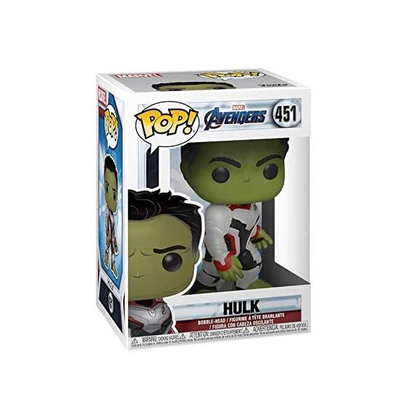Funko Pop Hulk (Los Vengadores: Endgame 451) Funko Pop Los Vengadores