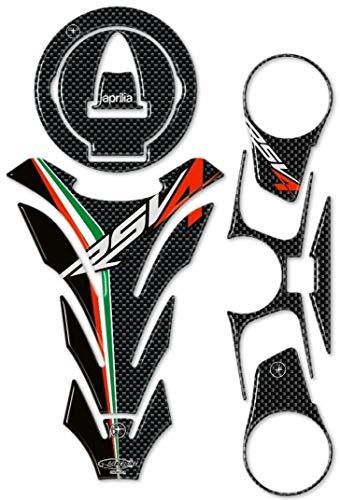 3D Gel Resin Stickers/Stickers Kits kompatibel für Motorcycle Aprilia RSV4 Carbon
