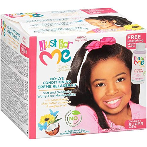 Just for Me NoLye Conditioning Creme Relaxer KitChildren#039s Super 1 APPLICATION