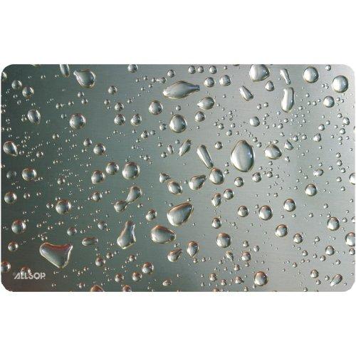 Allsop Widescreen Mouse Pad - Metal Raindrop (29648)