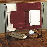 J&J Wire Quilt Holder with Shelf