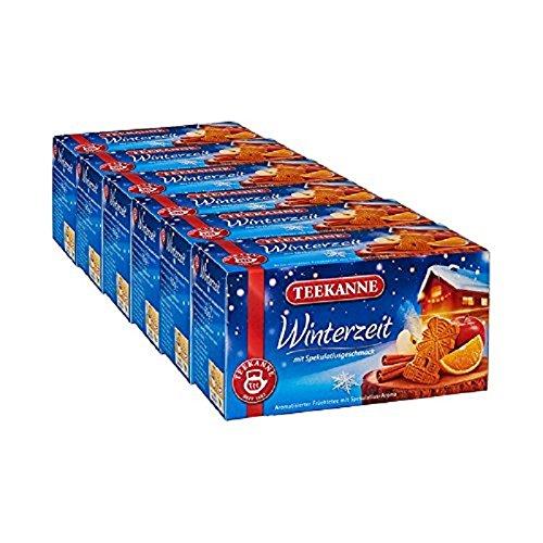 Teekanne Winterzeit 20 Beutel, 6er Pack (6 x 60 g)