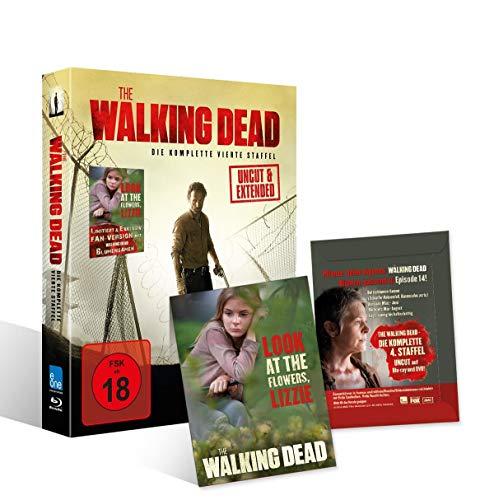 The Walking Dead - Staffel 4 (Uncut & Extended) (Flower-Fan-Version) [Blu-ray]