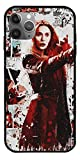 HHTEE Case Compatible with iPhone 6 Comic Books Superhero Action Movie Avengers Scarlet Witch Pure Clear Glass Phone Cases Cover Full Body -  Gear Channels