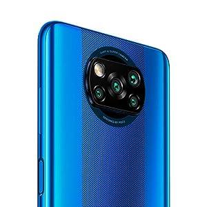 "Xiaomi Poco X3 NFC 64GB, 6GB RAM, 5160mAh (typ) Large Battery, 6.67"" DotDisplay, QUALCOMM Snapdragon GSM LTE Factory Unlocked Smartphone - International Version (Cobalt Blue)"