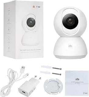 كاميرا مراقبة للمنزل 1080 بكسل من اي ام اي بانورامية عالية الوضوح تدور 360 درجة، احمِ منزلك