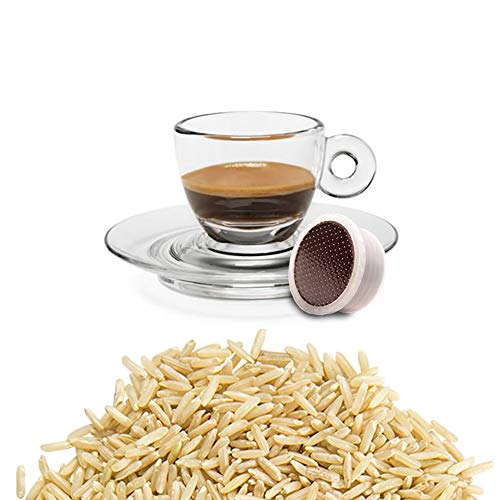 50 Kapseln Lavazza Espresso Point Kaffee Kompatibel Gerstenkaffee - Hergestellt in Italien - Kickkick Kaffee