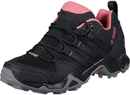 adidas Women's Terrex Ax2R GTX Low Rise Hiking Boots, Black (Core Black/Core Black/Tactile Pink), 5.5 UK 38 2/3 EU